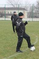 Тренировка перед матчем с Оболонь-Бровар