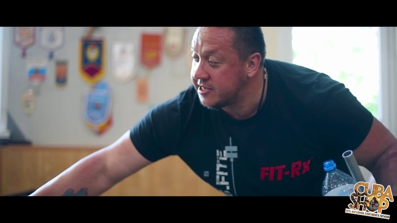 Тренировка с Михаилом Кокляевым в академии тяжелой атлетики Ригерта