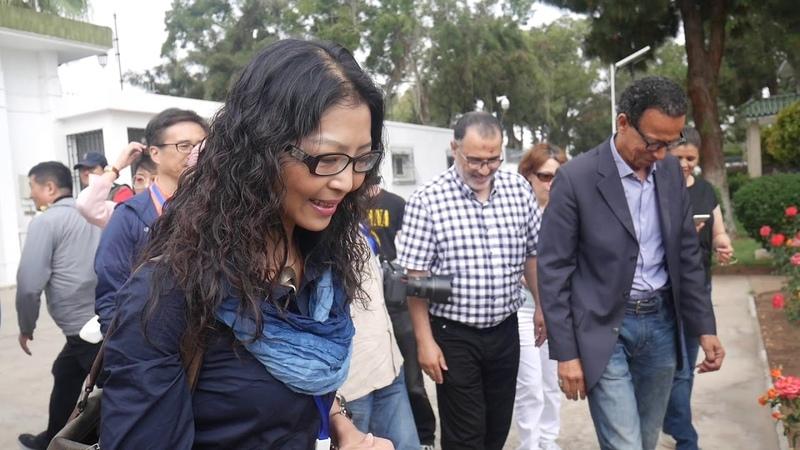 China-Morocco Photography Activity ( 2. Embassy Visiting)