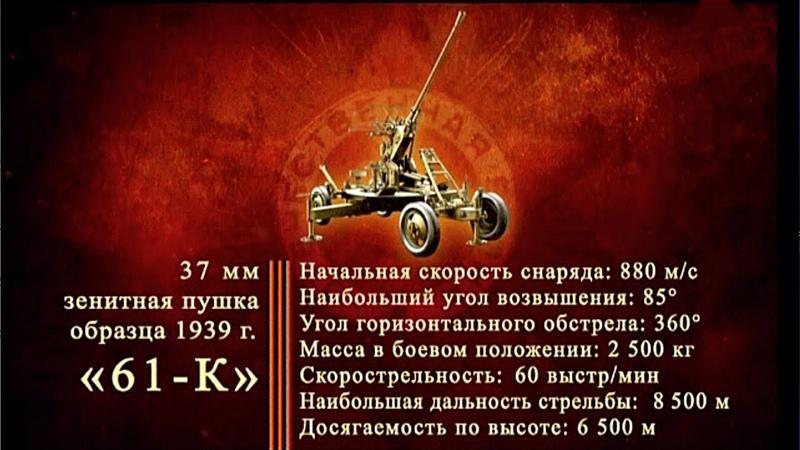 Д/ф «Оружие Победы» - Зенитные орудия