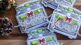Interactive Christmas mini cards