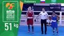 (W51kg) Russia vs Kazakhstan /AIBA Women's World 2018/