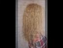 Протеиновая завивка волос