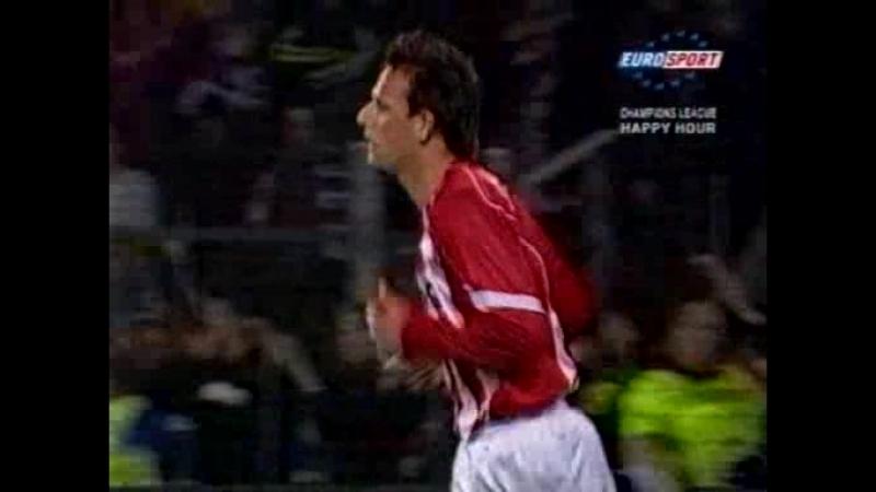 134 CL 2004 2005 PSV Eindhoven Rosenborg BK 1 0 02 11 2004 HL