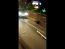 Ночная авария на остановке Заря - две тойоты