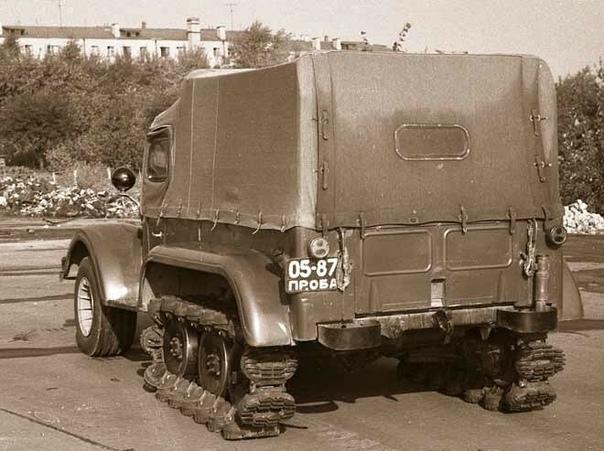 Внедорожник НАМИ-С3МУ на испытаниях, 1970-е.