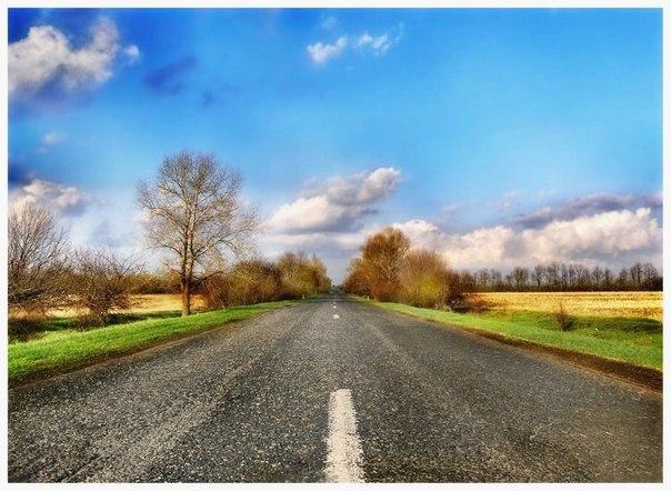 Фотографія української дороги