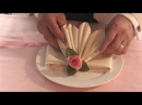 How To Fold Fancy Looking Napkins