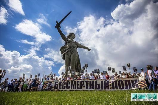 И вновь по Волгограду пройдет «Бессмертный полк».  Ставшая традиционно