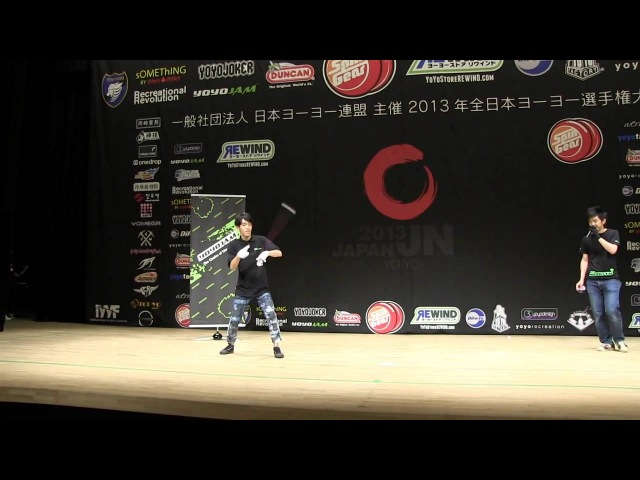 Team YoYoJam Showcase at Japan Nationals 2013