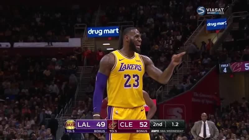 Кливленд Кавальерс - Лос Анджелес Лейкерс (сезон 2018-2019) 21.11.18
