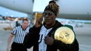 R-Truth loses the 24/7 Title on the airport tarmac