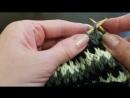 Узор плотного вязания на спицах Ленивый жаккард Вяжем жаккард легко