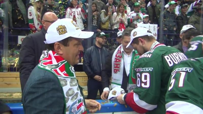 Я поверил в Кубок Гагарина, когда взял его в руки (интервью Свитова)