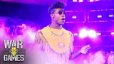 Velveteen Dream makes his fashionable ring entrance NXT TakeOver WarGames (WWE Network Exclusive)
