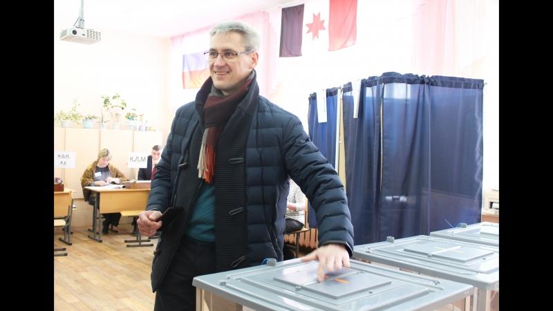 Денис Сергеевич Анищук на выборах Президента РФ