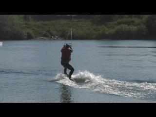Вейкборд на озере Круглом