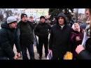 Реакція колорадів на одиночний пікет сміливої дівчини проти війни, Донецьк