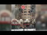 🔥 В Красногорске горит жилой дом. Люди выпрыгивают из окон 6-го этажа