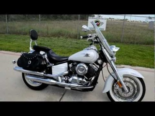 2007 Yamaha VStar 650 Classic Pearl White Overview Review Walk Around