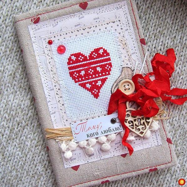 Подборка схем вышивки сердечек