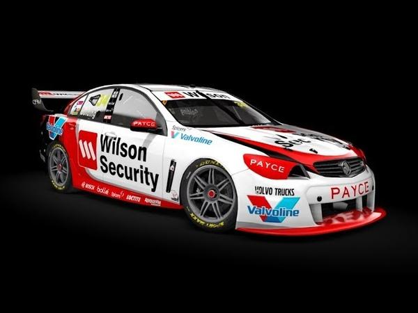 1 Race2 Adelaide @ I-SRC V8 Supercars - LIVE ONBOARD