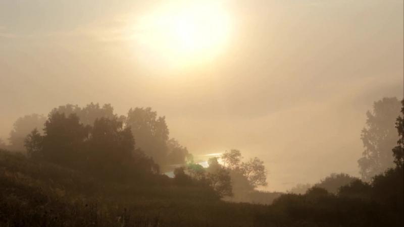 утро на расвете
