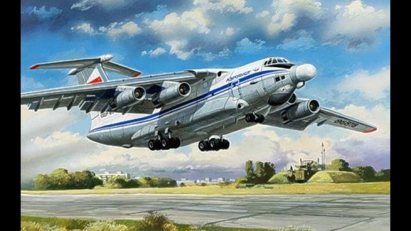 A-60 and Mig-21 escort
