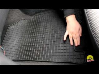 Обзор ковриков в салон Chevrolet Aveo '06-11 - Резиновые коврики в салон Petex