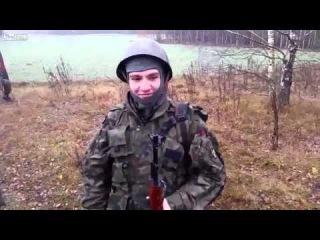 Поляк показал как разозлить снайпера.