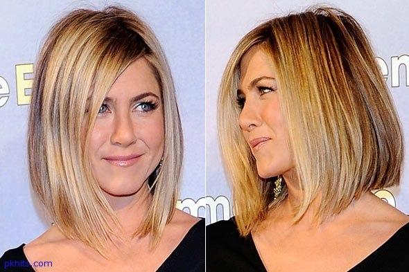 Стрижки для средних волос 2013