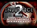 Mortal Kombat: Armageddon (K.A.F) - Injustice 2 characters - gameplay part 4