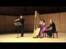 Piazzolla-Cafe 1930-History of Tango-Thomas Robertello, flute, Maria Luisa Rayan-Forero, harp
