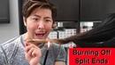 Burning Off Split Ends