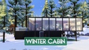 Sims 4 House Building Winter Cabin Seasons Expansion Pack