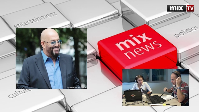 Российский певец артист РФ Михаил Шуфутинский в программе Абонент доступен MIXTV