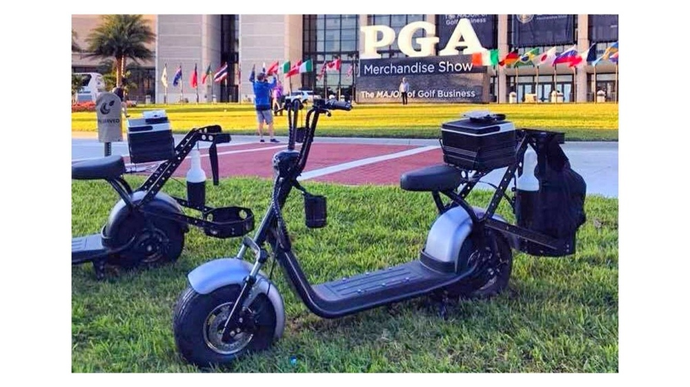Finn и Phat Golf - электроскутеры для гольфа