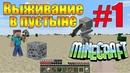 КАК ВЫЖИТЬ НУБУ в Пустыне В МАЙНКРАФТ   Выживание Нубика В MINECRAFT. ЗАЩИТА НУБА