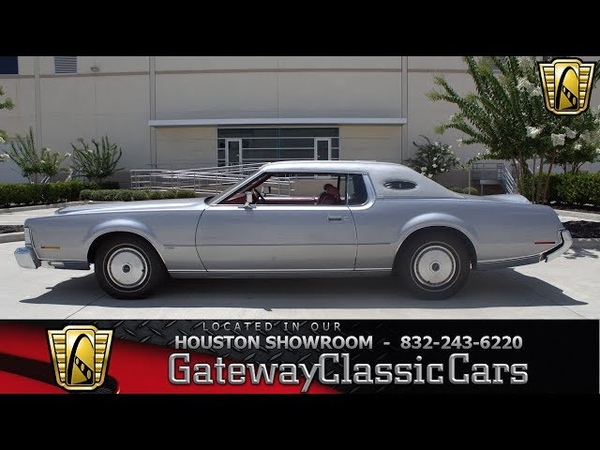 1973 Lincoln Continental Mark IV Gateway Classic Cars 1255 Houston Showroom