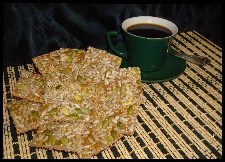 Печенье с отрубями и семенами
