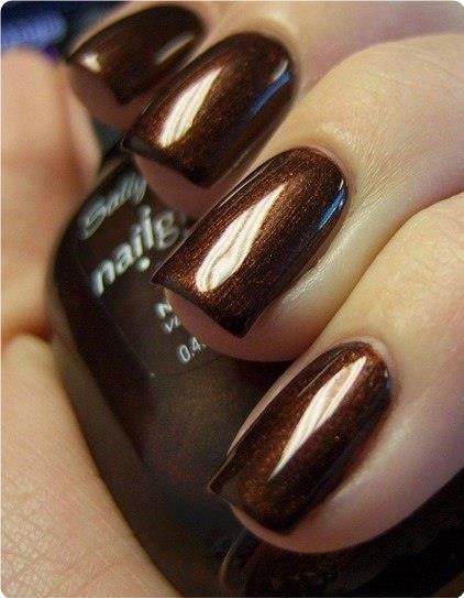 Вдохновение цветом: насыщенный шоколадный.