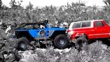 Red &amp Blue (Chevrolet Blazer &amp Jeep Wrangler)