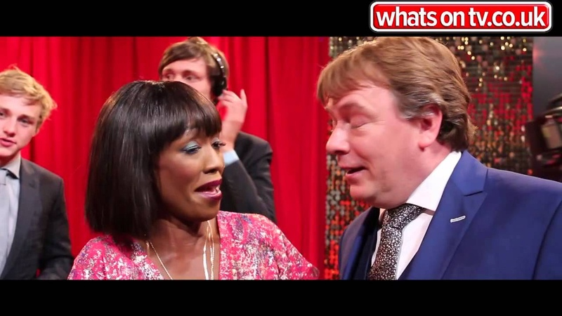 2014 Soap Awards EastEnders Adam Woodyatt and Diane Parish
