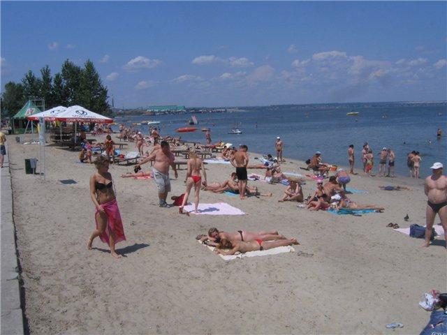 пляжи Таганрога