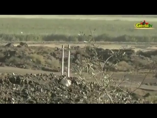 Guerilla pkk forces carried out a sabotage action against a cobra-type armoured vehicle which patrolling in the dilucu area of i