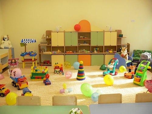 Комнаты в детском саду фото
