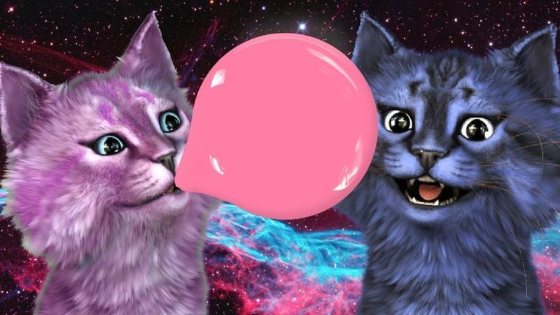 СИМУЛЯТОР ЖВАЧКИ С ЛЕО! ЗОМБИ-КОТИКИ КТО ПРЫГНЕТ ВЫШЕ РОБЛОКС roblox Bubble Gum Simulator
