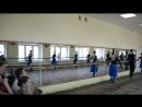 фрагмент показа-урока хореографии станок народный КемГИКИ