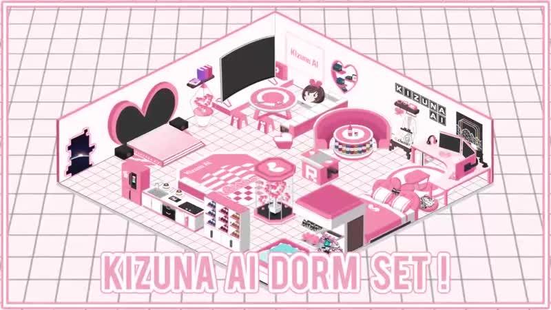 Kizuna AI X Azur Lane Collaboration