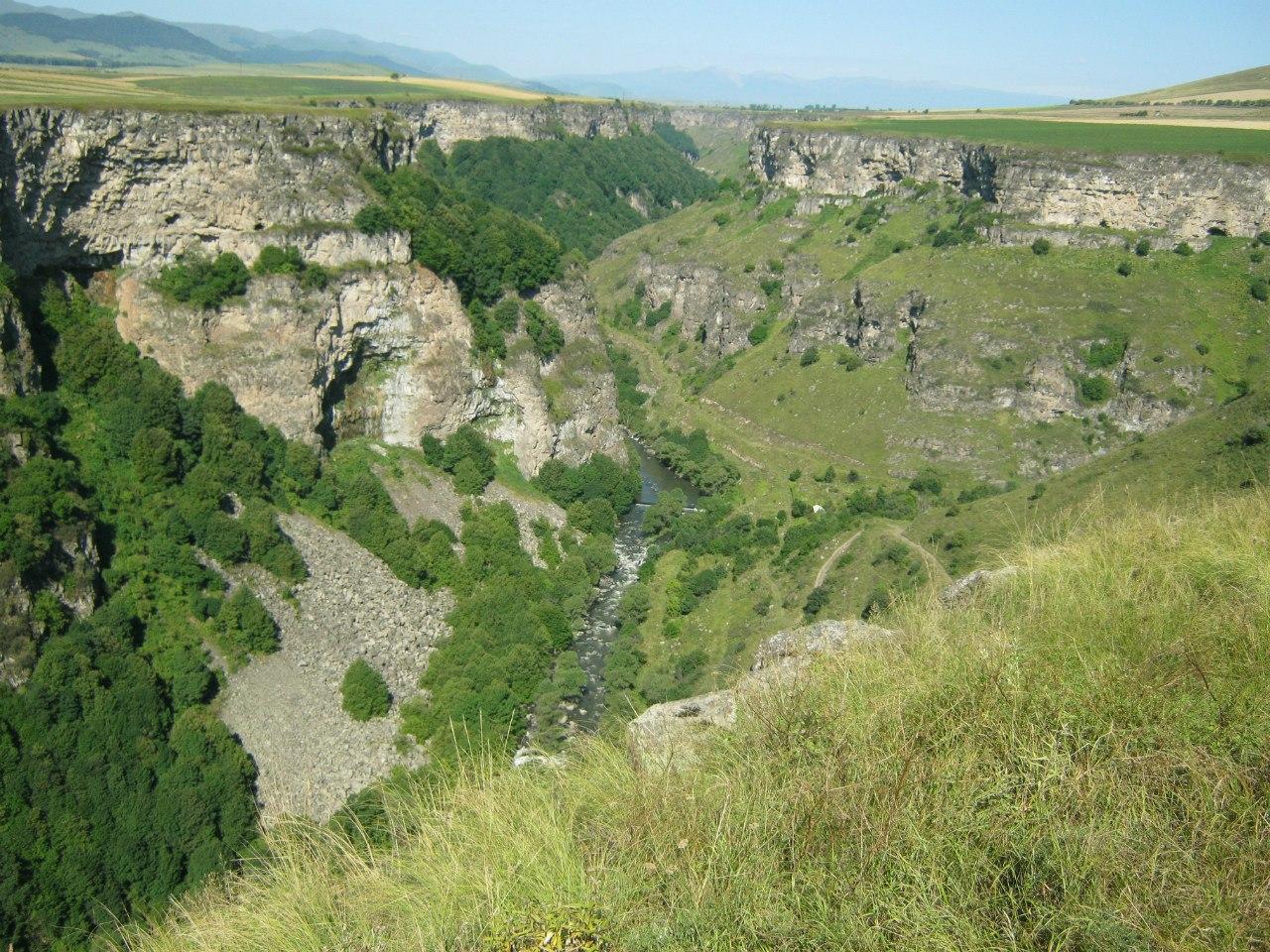 каньон Дзорагет (от Степанавана до Дебедского ущелья)
